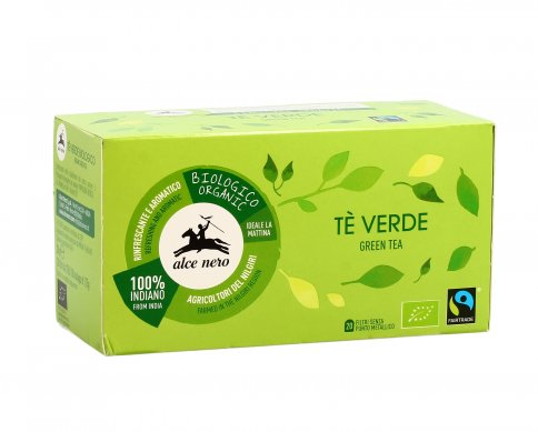 Te' Verde India Bio - Fairtrade