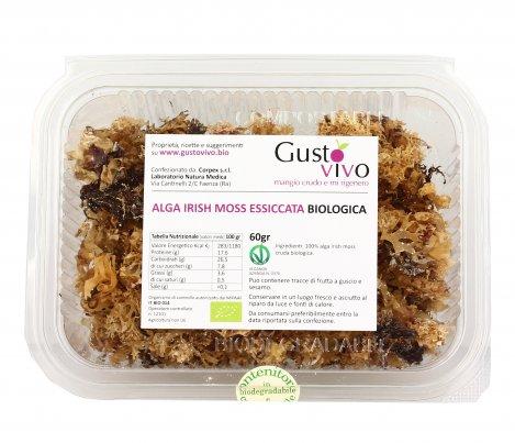 Alga Irish Moss Essiccata Biologica