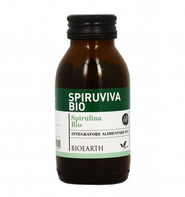 Alga Spirulina - Spiruviva Bio 180 Compresse (90 g)