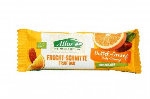 Barretta di Frutta con Datteri e Arancia