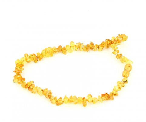 Collanina Ambra Baby - Nugget Honey