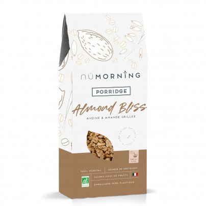 "Porridge Bio Avena e Mandorle Tostate ""Almond Bliss"""