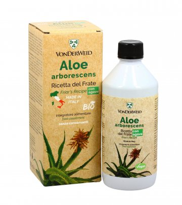 Aloe Arborescens con Agave - Ricetta del Frate 500 ml