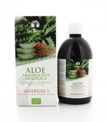 Aloe Arborescens Biologica - Sinergia 1 - Miele 750 Ml