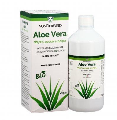 Aloe Vera Succo e Polpa 1000 ml