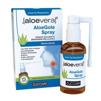 Aloe Gola Spray - Sollievo e Benessere