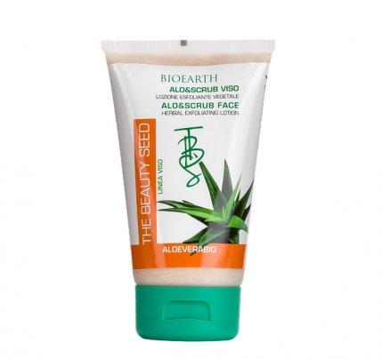 Lozione Esfoliante con Aloe - Alo&Scrub Viso
