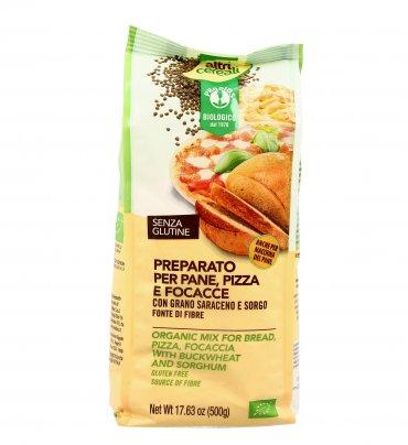 Preparato per Pane, Pizza e Focacce con Grano Saraceno e Sorgo - Altri Cereali