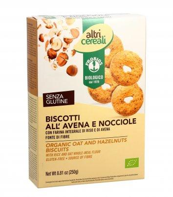Biscotti all'Avena e Nocciole - AltriCereali