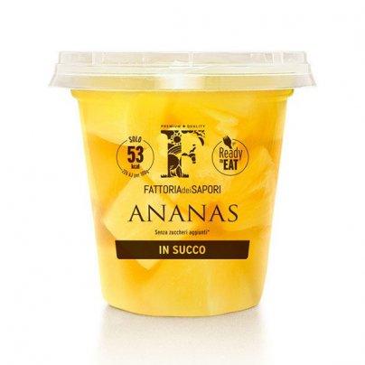 "Ananas al Naturale in Succo ""Mangia e Bevi"" - Senza Zuccheri Aggiunti"
