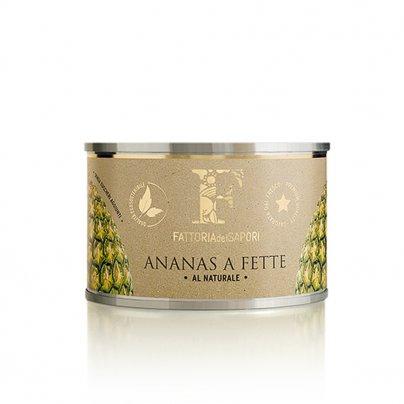 Ananas a Fette al Naturale (Confezione 410 gr.)