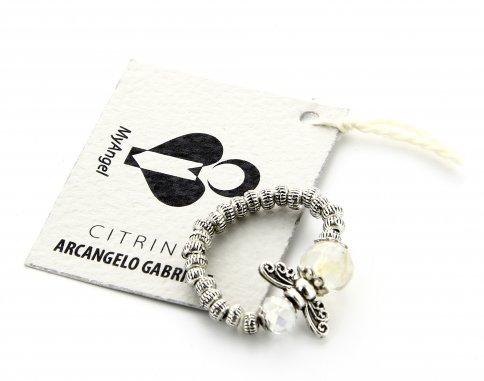 Anello Arcangelo Gabriele - Citrino