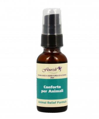 Formula Spray a Base di Essenze Floreali e Oli Essenziali - Animal Relief Formula