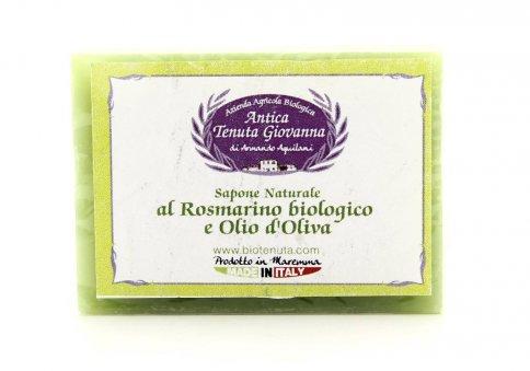 Sapone Naturale al Rosmarino Bio e Olio di Oliva
