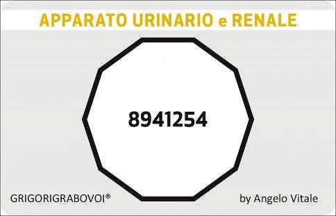 Tessera Radionica 52 - Urinario e Renale