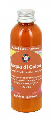 Acqua di Colore Arancione Spirituale