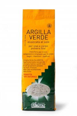 Argilla Verde Essiccata al Sole 25 kg