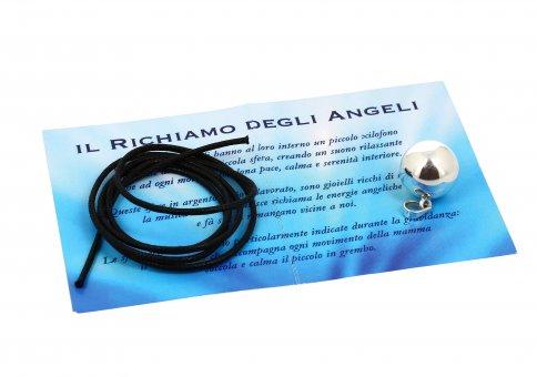 Ciondolo Chiama Angeli Liscio - Diametro 16 mm