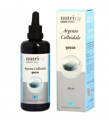 Argento Colloidale 20 ppm in Gocce 100 ml