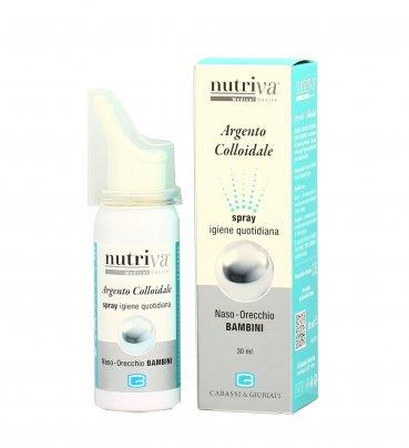 Argento Colloidale 20ppm Spray Bambini - Naso e Orecchio