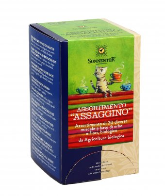 "Assortimento ""Assaggino"" - Tisane Bio"