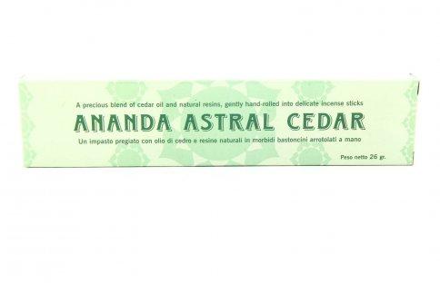 Ananda Incenso Astrale - Cedro