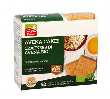 Crackers di Avena Cakes Bio