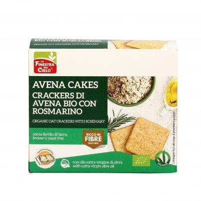 Crackers di Avena Bio con Rosmarino - Avena Cakes