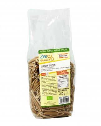 Pasta Caserecce di Avena Bio - Zero Glutine