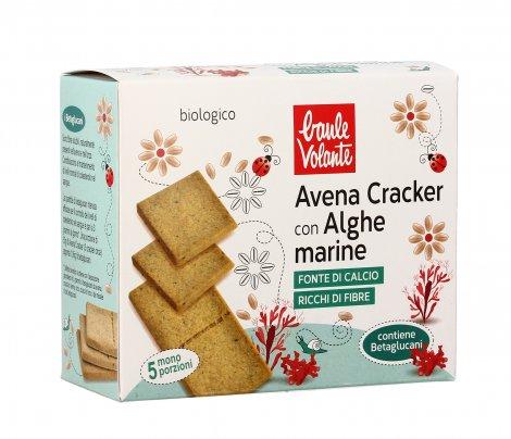 Cracker di Avena con Alghe Marine
