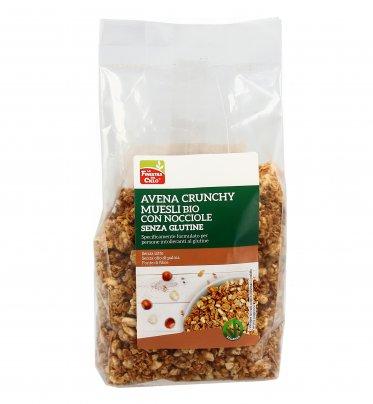Avena Crunchy Muesli Bio con Nocciole - Senza Glutine