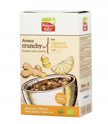 Muesli Avena Crunchy Bio con Zenzero e Limone