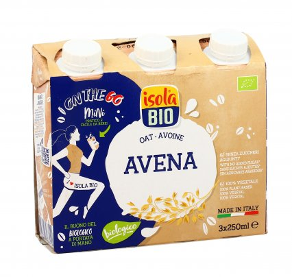 "Bevanda Bio di Avena Senza Zucchero Brick ""On The Go"""