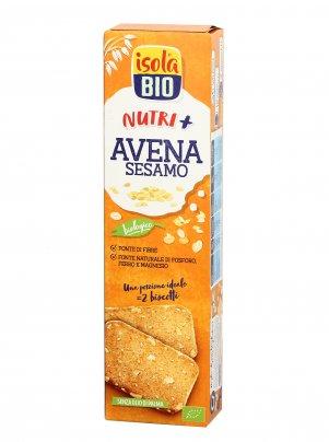 Biscotti Avena Integrale e Sesamo Nutri+