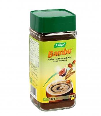 BAMBU SOLUBILE BIO Prodotto simile al caffè aromatico solubile a base di frutta biologica e cereali. di A.VOGEL
