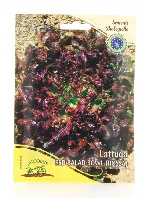 Semi di Red Salad Bowl - 25 Gr.