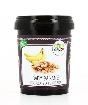 Baby Banane Essiccate a Fette