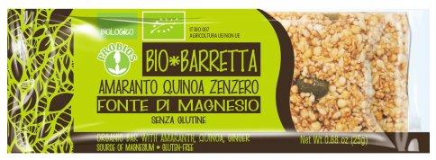 Barretta Bio - Amaranto, Quinoa e Zenzero