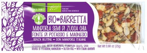 Barretta Bio - Mandorla, Semi di Zucca e Chia
