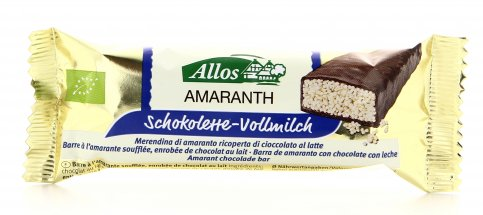 Barretta all'Amaranto e Cioccolato al Latte