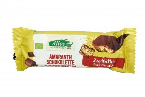 Barretta Bio all'Amaranto e Cioccolato Fondente