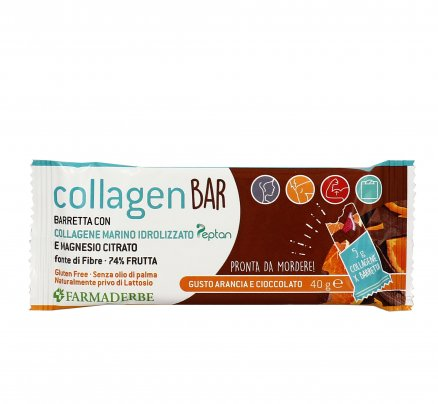 Barretta Sport Collagene con Arancia e Cioccolato - Collagen Bar