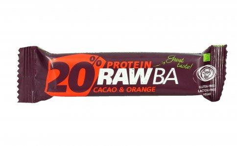 Barretta Proteica Cacao e Arancia - 20% Protein RawBa