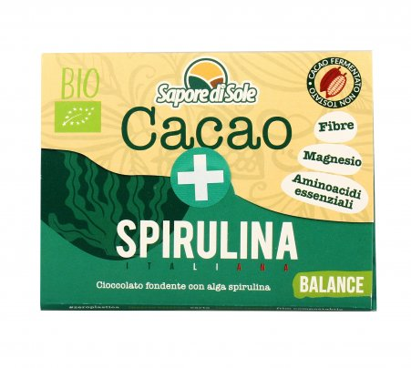 """Barretta Cacao + Spirulina """"Balance"""""""