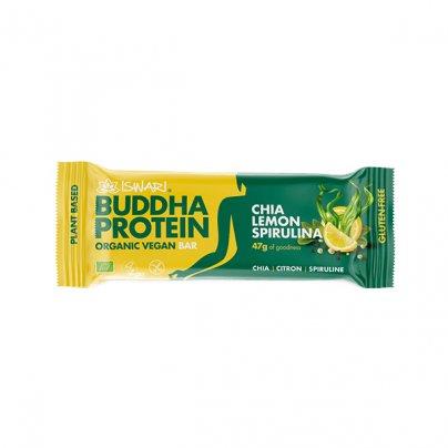 Barretta Vegan Limone, Chia e Spirulina - Buddha Protein
