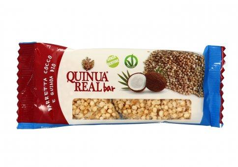 Barretta Cocco e Quinoa Bio - Vegan e Senza Glutine