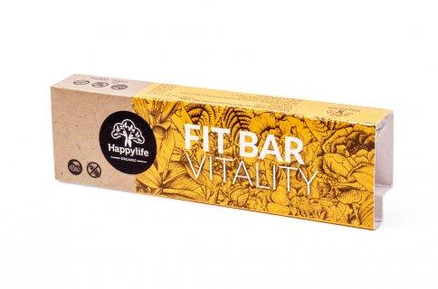 Barretta Cruda con Albicocca e Proteine di Canapa - Fit Bar Vitality