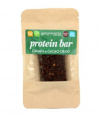 Barretta Crudista con Canapa e Cacao Crudo