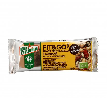 Fit & Go - Snack con Frutta Secca e Guaranà