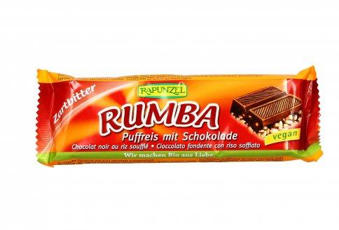 """Barretta Cioccolato Fondente e Riso Soffiato """"Rumba"""""""